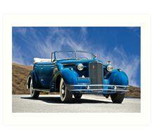 1934 Cadillac Convertible Sedan III Art Print