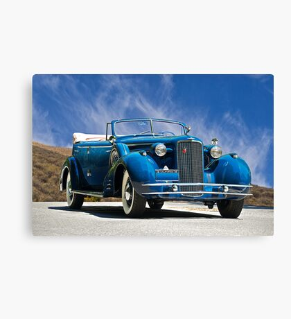 1934 Cadillac Convertible Sedan III Canvas Print