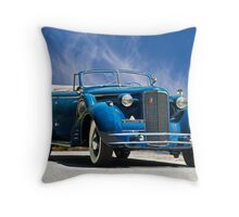 1934 Cadillac Convertible Sedan III Throw Pillow