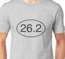 26.2 Oval Unisex T-Shirt