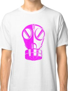 Gas Mask Pink Classic T-Shirt