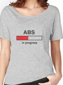 Abs in Progress Women's Relaxed Fit T-Shirt