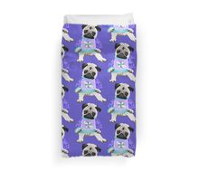 Holiday Pug in Ugly Christmas Sweater 2 Duvet Cover