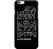 to days of inspiration! iPhone Case/Skin