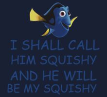 I SHALL CALL HIM SQUISHY Kids Tee
