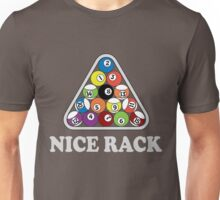 Billiards. Nice Rack Unisex T-Shirt