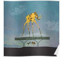 Dalimt Prehistoric Fantasy Poster