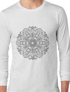 Mandala 64 Long Sleeve T-Shirt