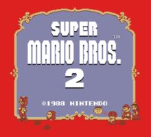 Super Mario Bros. 2 Title Screen by Loominade