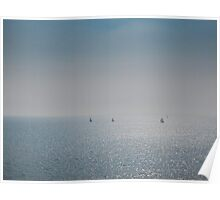 Distant Yachts  Poster
