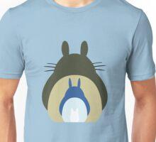 Totoro Trio Unisex T-Shirt