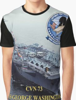 CVN-73 USS George Washington Graphic T-Shirt