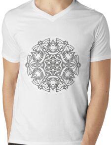Mandala 96 Mens V-Neck T-Shirt