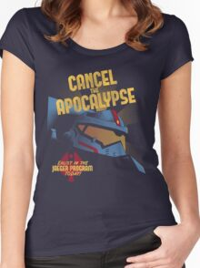 Cancel the Apocalypse Women's Fitted Scoop T-Shirt
