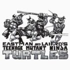 ORIGINAL TMNT by chachi-mofo