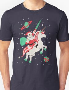 SANTA UGLY CHRISTMAS -SANTA UNICORN- SANTA UNICORN UGLY SWEATER T-Shirt