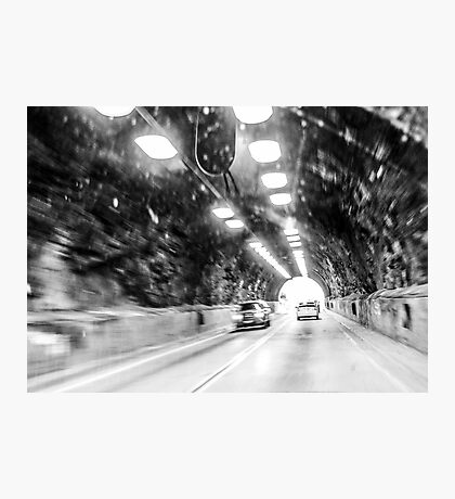 Tunnel to Malibu Photographic Print