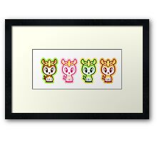 Chibi Deerlings Framed Print
