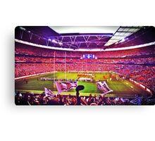 Wembley Stadium London England Canvas Print