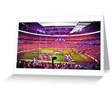 Wembley Stadium London England Greeting Card