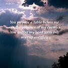 Psalms 23:5 by DreamCatcher/ Kyrah
