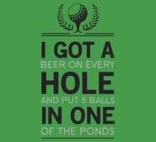 Hole in One or Beer on Every Hold and 5 in one Pond by sportsfan