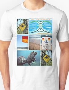 please swim between the flags T-Shirt