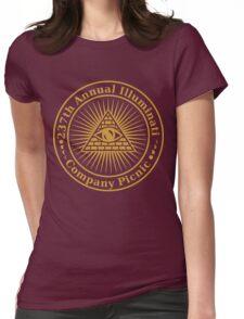 Illuminati Company Picnic Womens Fitted T-Shirt