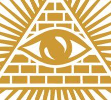 Illuminati Company Picnic Sticker