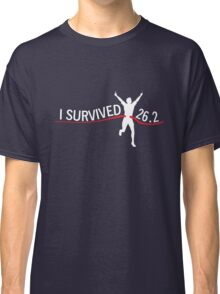I survived 26.2 Classic T-Shirt