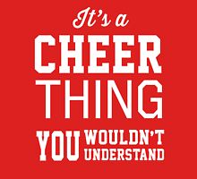 It's a cheer thing you wouldn't understand Womens Fitted T-Shirt