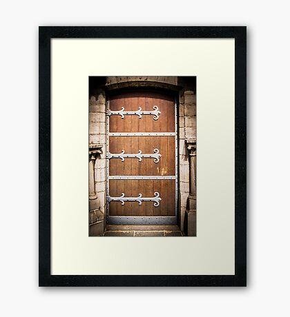 Medieval Door Framed Print