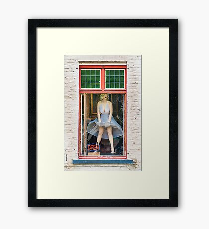 Belgian Marilyn Framed Print