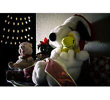 Christmas is for Hugs Photographic Print