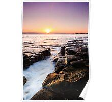 Mooloolaba Beach Sunrise Poster