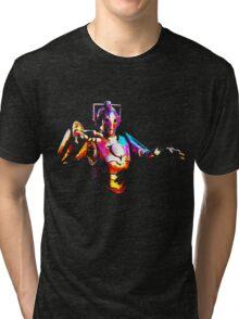 Cyberman Beta Tri-blend T-Shirt