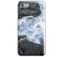 Waves in the Rock Pools iPhone Case/Skin