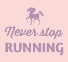 Unicorn. Never stop running by sportsfan