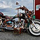 Magic Harley Davidson. by © Andrzej Goszcz,M.D. Ph.D