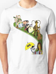 Cartoon Composition T-Shirt