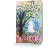 Into The Light byTerri Holland Greeting Card