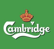 Cambridge white logo by PowJones