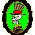 Sugar Skull Gentleman by ZombieRodent
