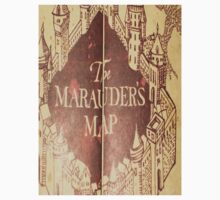 Harry Potter Marauder's Map by jjava