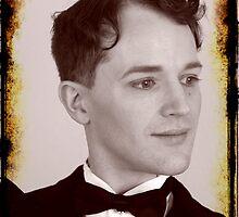 Brandon as Charles Chaplin by LadyLuckOfBoise