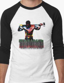 smash terrorism Men's Baseball ¾ T-Shirt