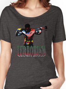 smash terrorism Women's Relaxed Fit T-Shirt