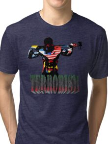 smash terrorism Tri-blend T-Shirt