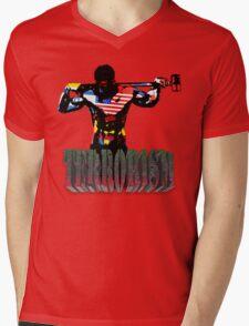 smash terrorism Mens V-Neck T-Shirt