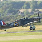 Hurricane Takeoff by Nigel Bangert